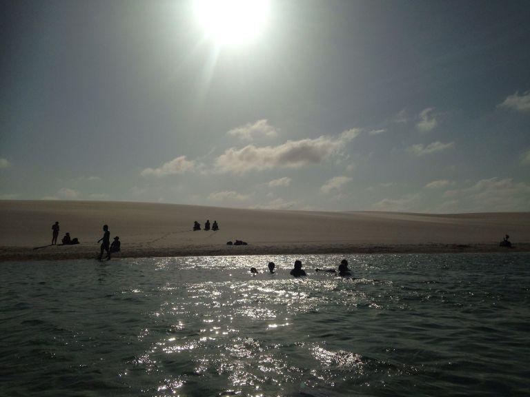 Passeio para Lagoa Bonita no Maranhão